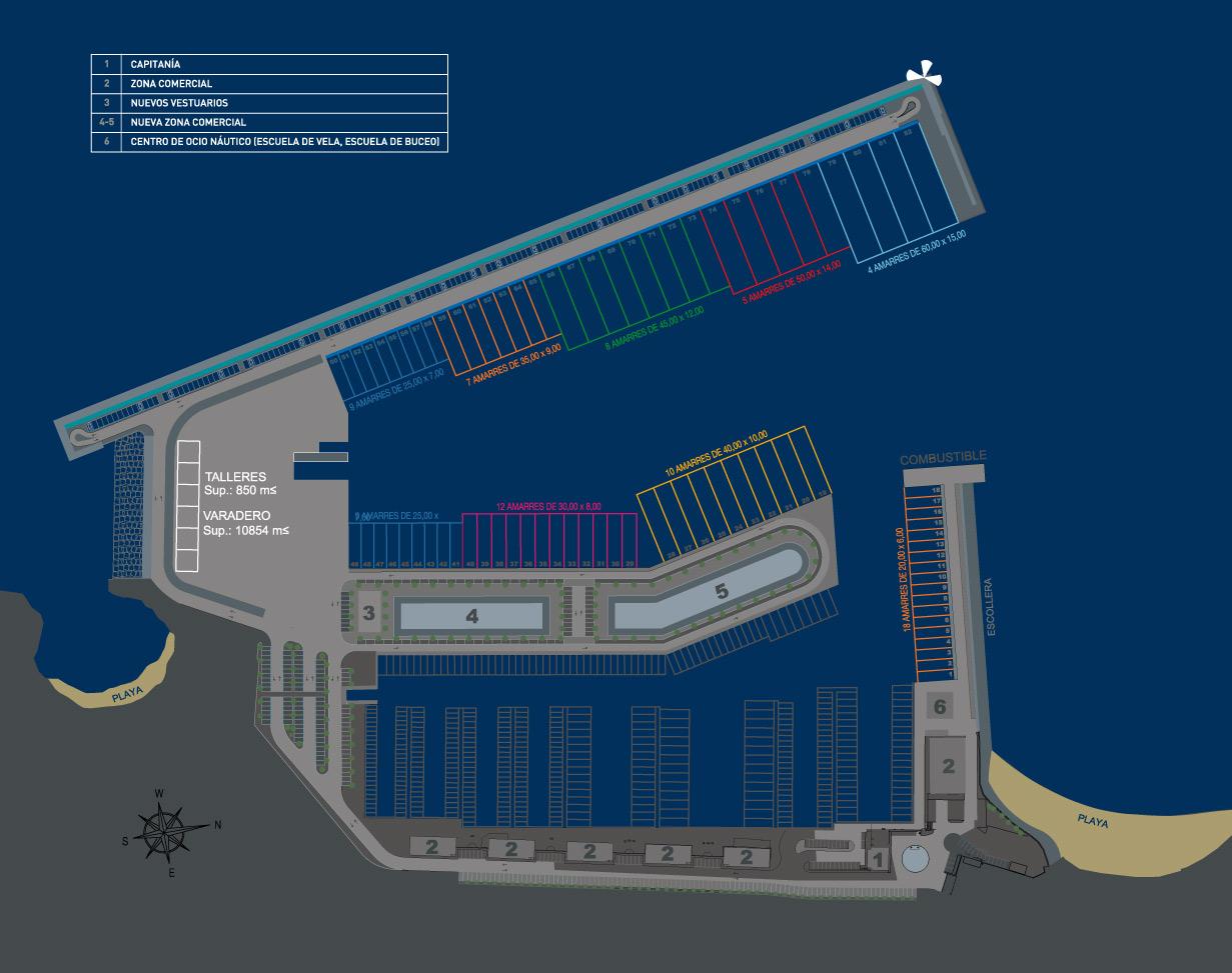 12380559-Bootscharter-Spanien-Marina-Port-Adriano