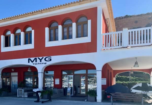 MYG Yachting Consultants Medyachtgroup office Port Adriano Mallorca Spain