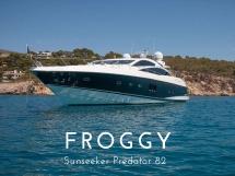Sunseeker Predator 82 - Froggy